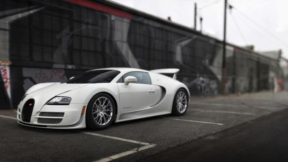 Bugatti Veyron Super Sport 2013 tres cuartos
