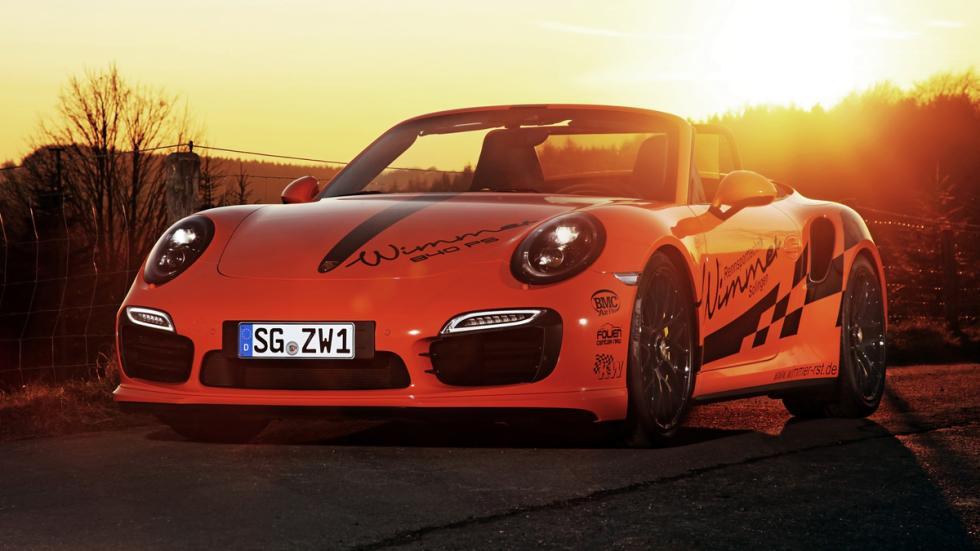Porsche 911 Turbo S Cabriolet Wimmer morro
