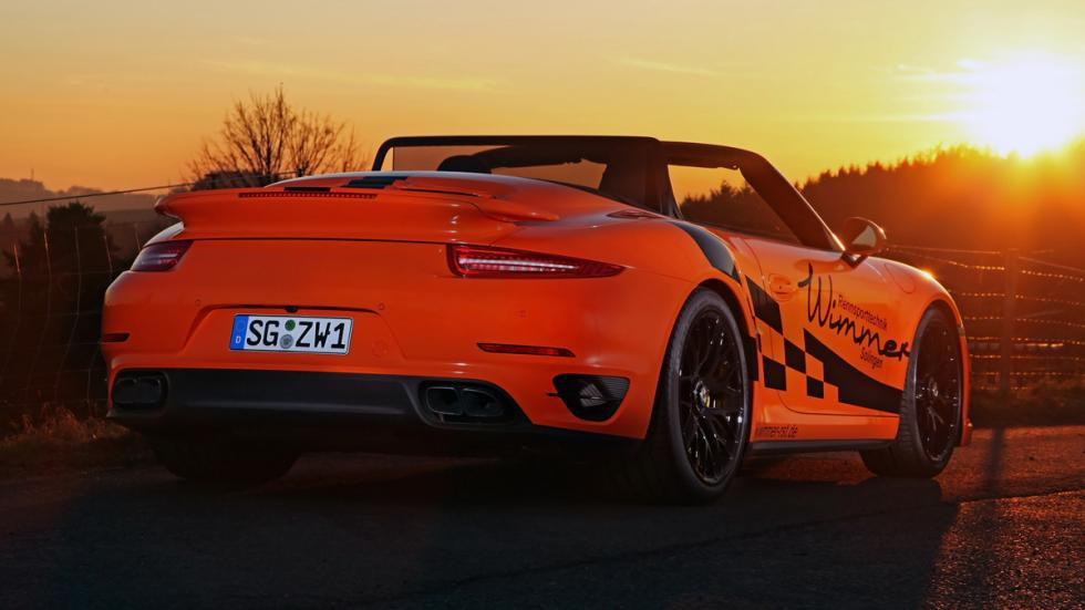 Porsche 911 Turbo S Cabriolet Wimmer zaga