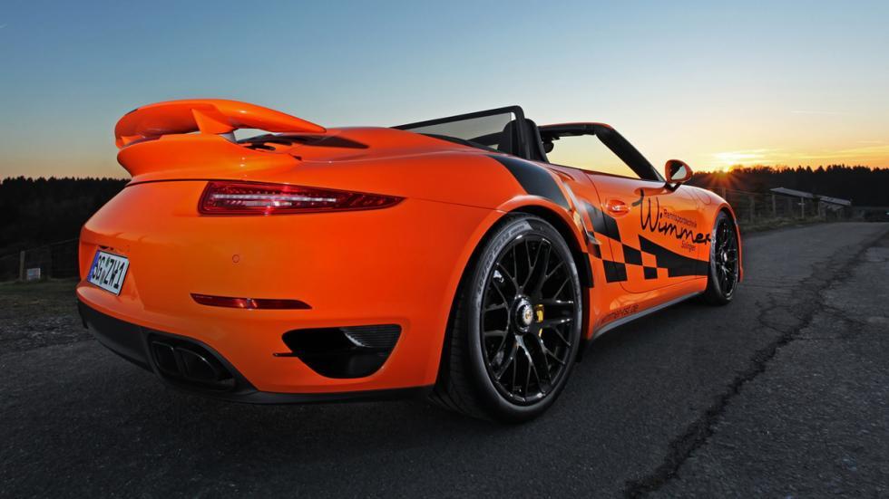 Porsche 911 Turbo S Cabriolet Wimmer trasera