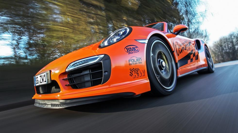 Porsche 911 Turbo S Cabriolet Wimmer delantera