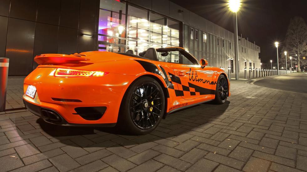 Porsche 911 Turbo S Cabriolet Wimmer tres cuartos trasera