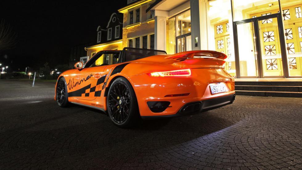 Porsche 911 Turbo S Cabriolet Wimmer culo