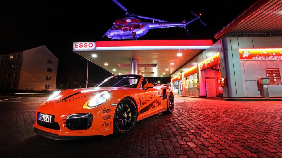 Porsche 911 Turbo S Cabriolet Wimmer tres cuartos delantera