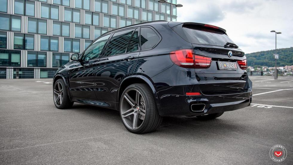 BMW X5 (F15) llantas Vossen zaga