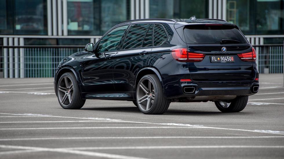 BMW X5 (F15) llantas Vossen tres cuartos trasera