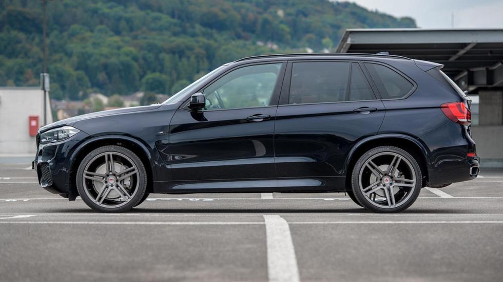 BMW X5 (F15) llantas Vossen perfil