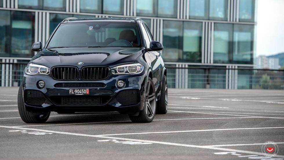 BMW X5 (F15) llantas Vossen morro