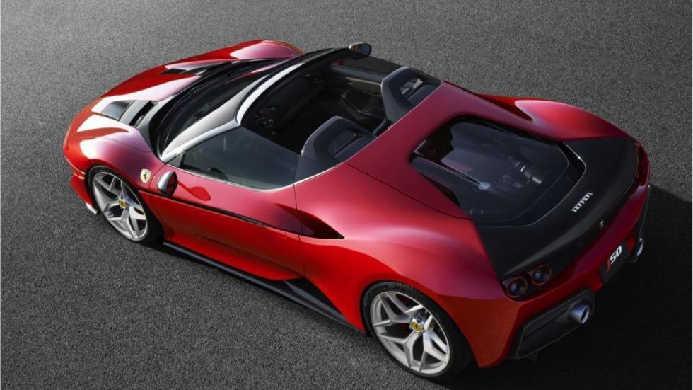 Ferrari J50 cenital