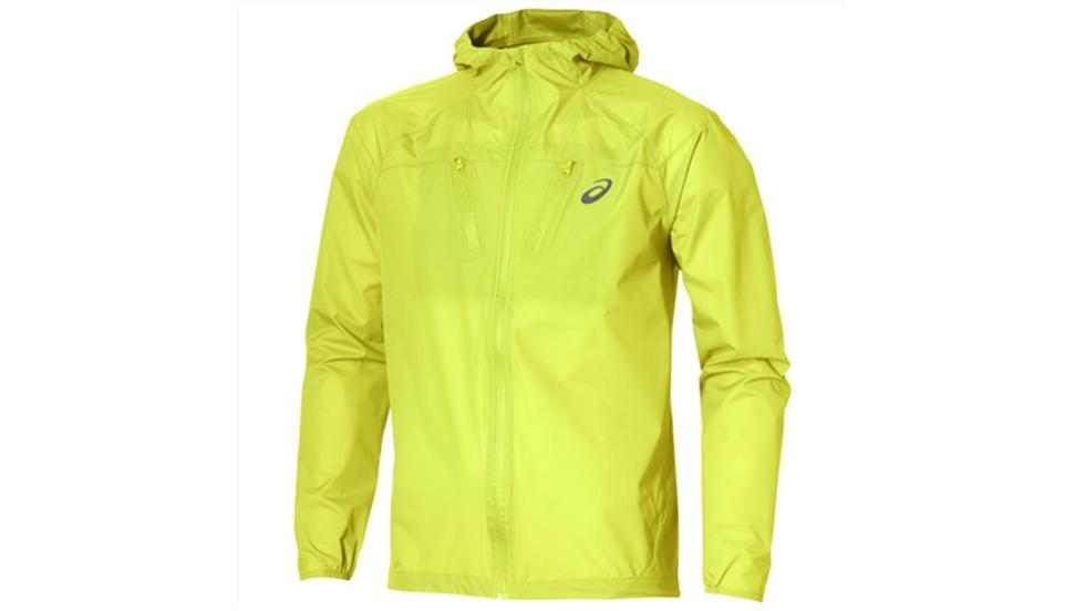 Chaqueta running invierno Waterproof, de Asics. Precio: 150 euros