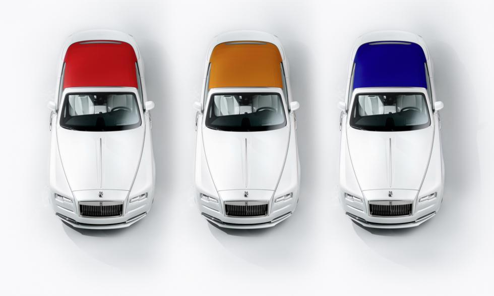 rolls-royce moda color