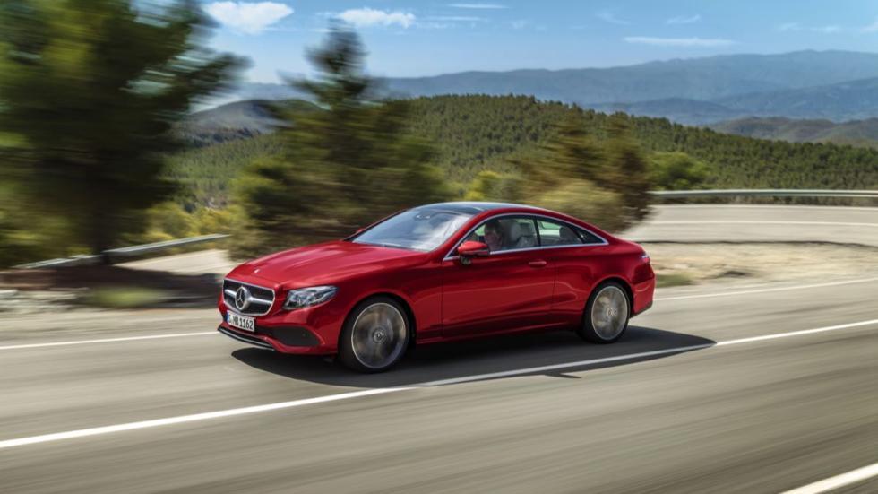 Mercedes Clase E Coupé 2017 dinamica 2