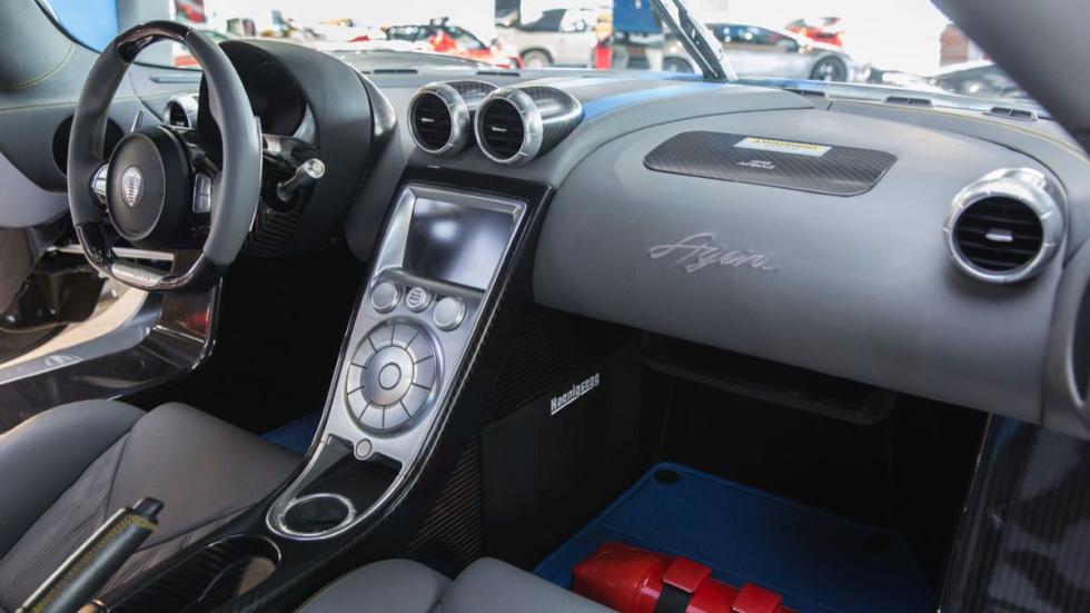 Koenigsegg Agera salpicadero