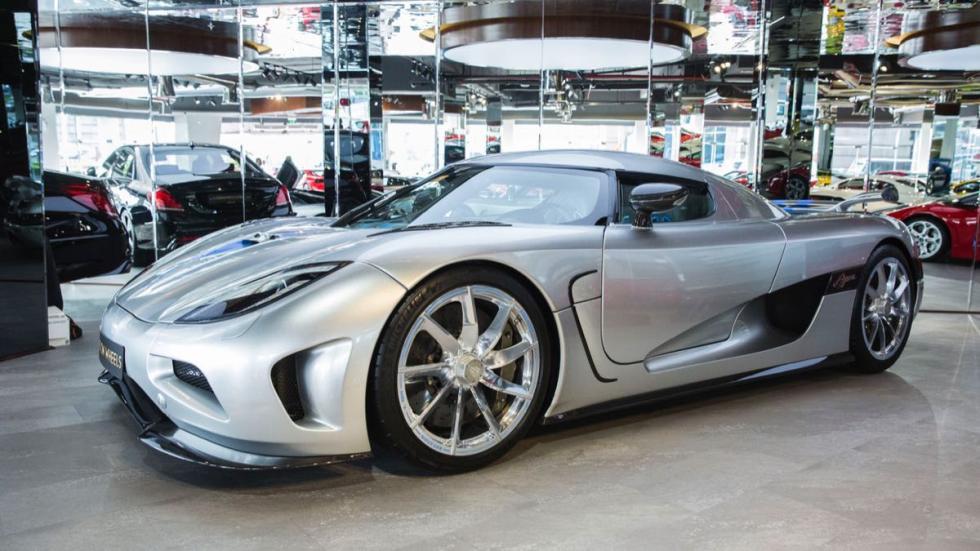 Koenigsegg Agera tres cuartos