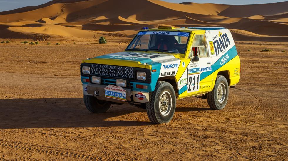 Nissan Patrol Fanta Limón París Dakar 1987 morro