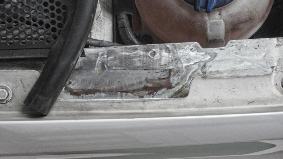 plancha de coche robado 1