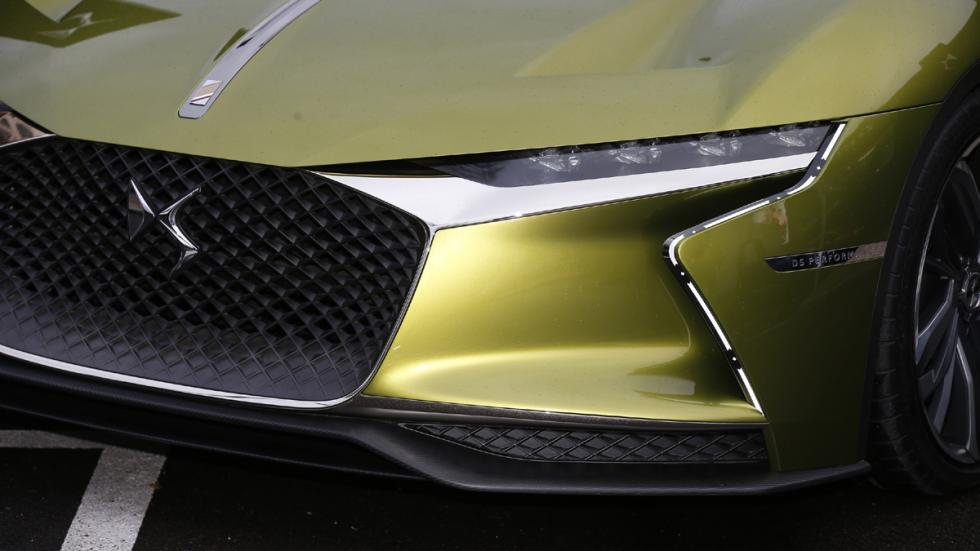 prueba DS E-Tense Concept Madrid detalle delantero
