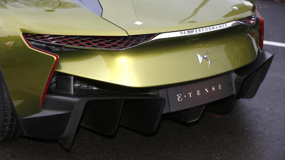 prueba DS E-Tense Concept Madrid detalle trasera