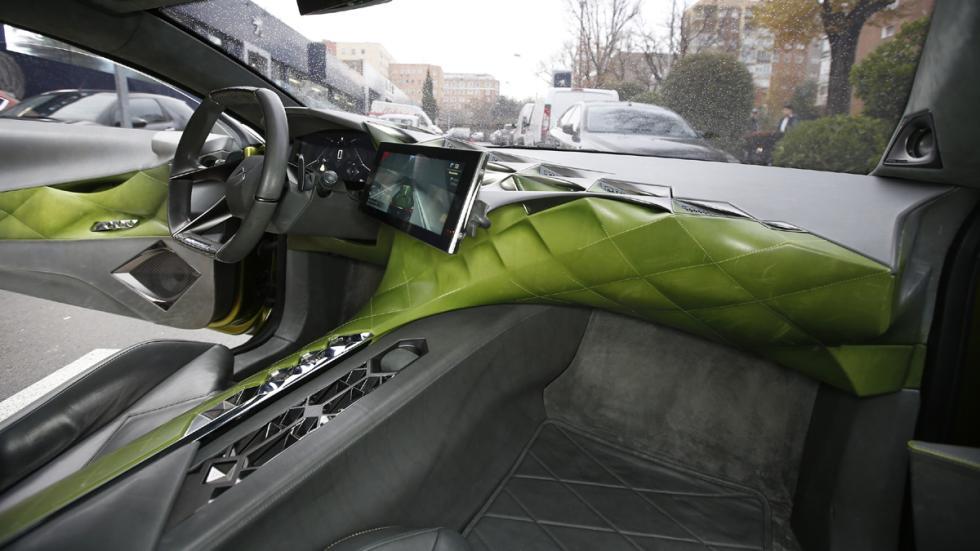 prueba DS E-Tense Concept Madrid interior