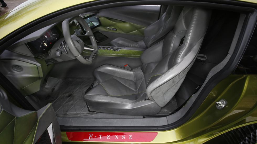 prueba DS E-Tense Concept Madrid asientos