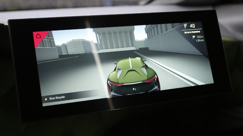 prueba DS E-Tense Concept Madrid pantalla