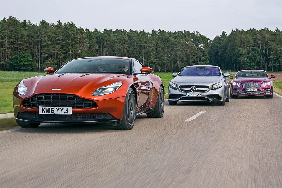 Comparativa en lo alto: DB11/Continental GT Speed/AMG S