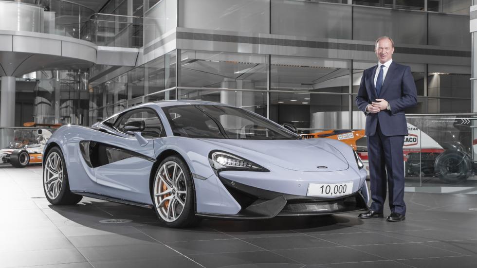 McLaren fabrica más de 10.000 coches