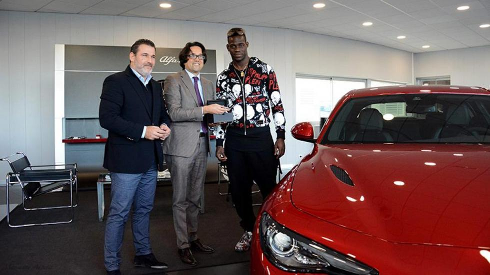Alfa Romeo Giulia Balotelli