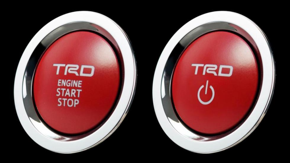 Toyota C-HR TRD boton arranque