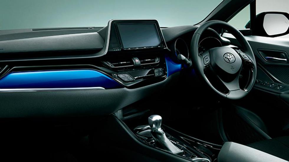 Toyota C-HR TRD interior
