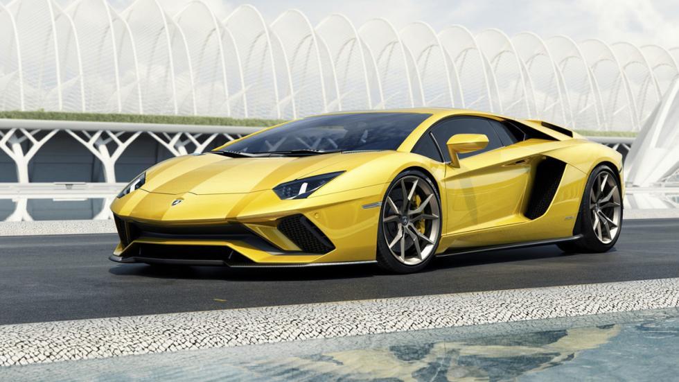 Lamborghini Aventador S delantera lateral