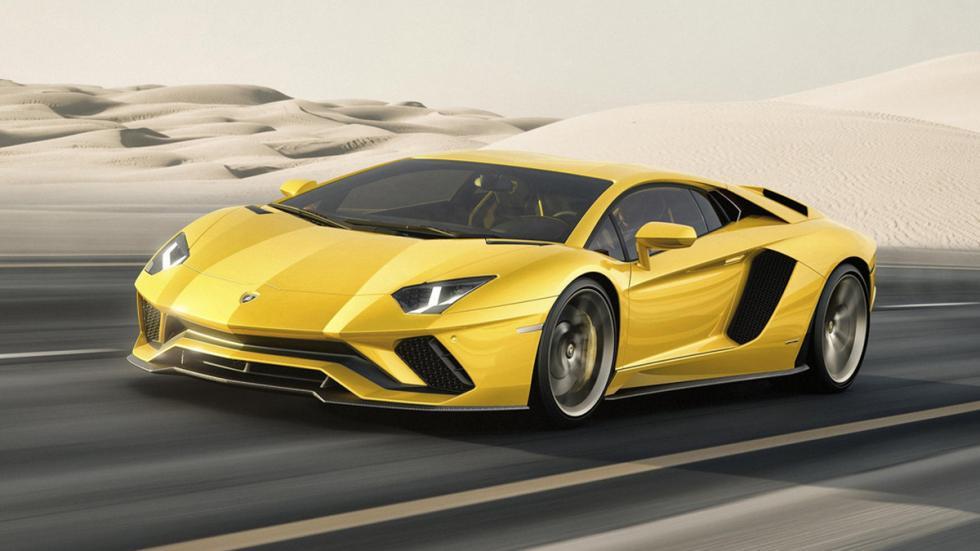 Lamborghini Aventador S delantera lateral movimiento