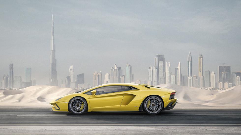 Lamborghini Aventador S lateral