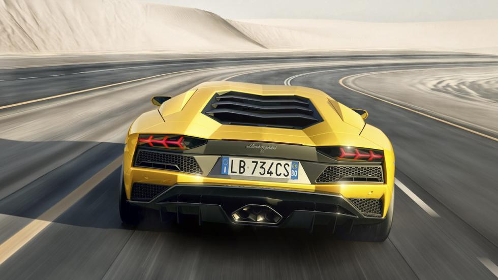 Lamborghini Aventador S culo
