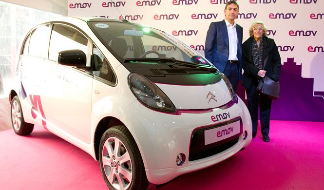 emov carsharing en Madrid