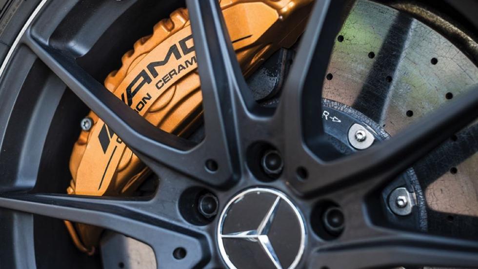 Mercedes SLS AMG Black Series rueda