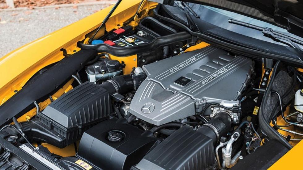 Mercedes SLS AMG Black Series motor