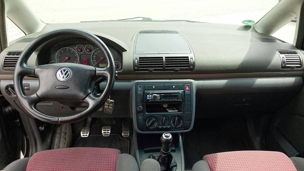 Volkswagen Sharan 440 CV interior