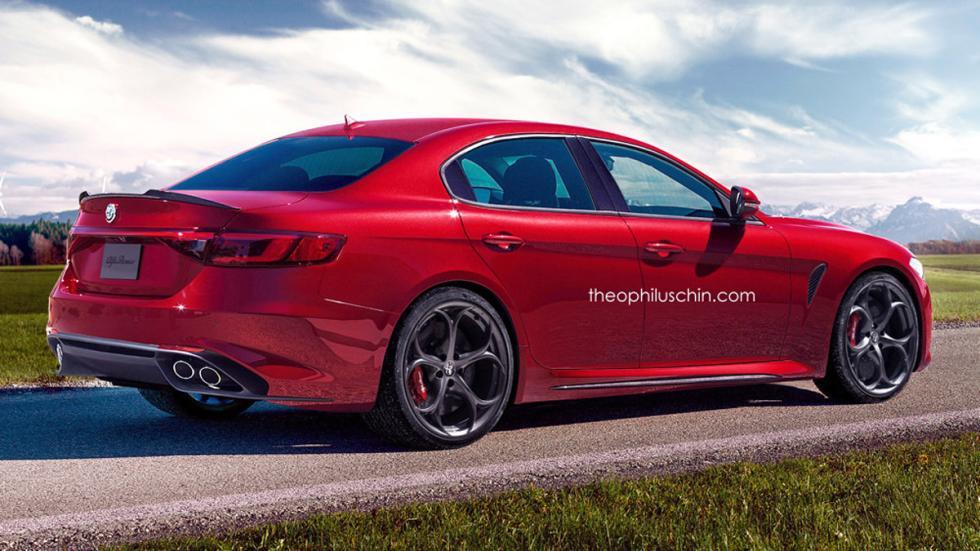 Alfa Romeo Alfetta trasera