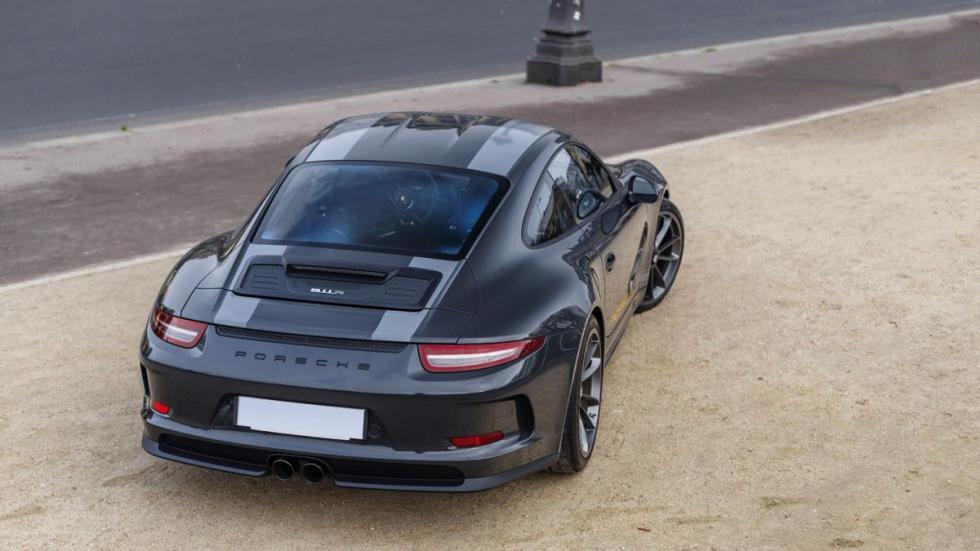 Porsche 911 R tres cuartos