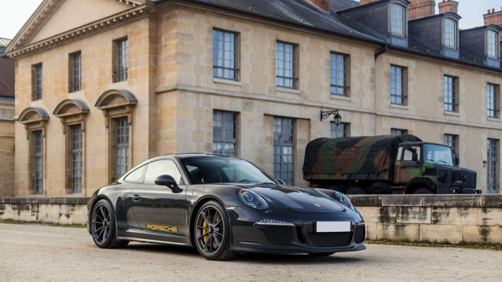 Porsche 911 R tres cuartos delanteros