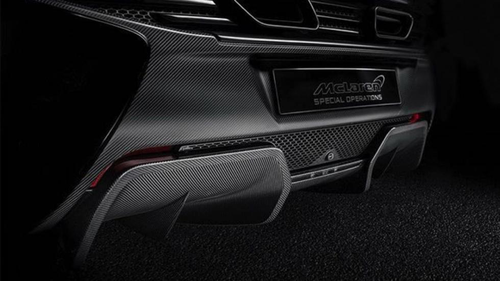 McLaren Super Series MSO  difusor