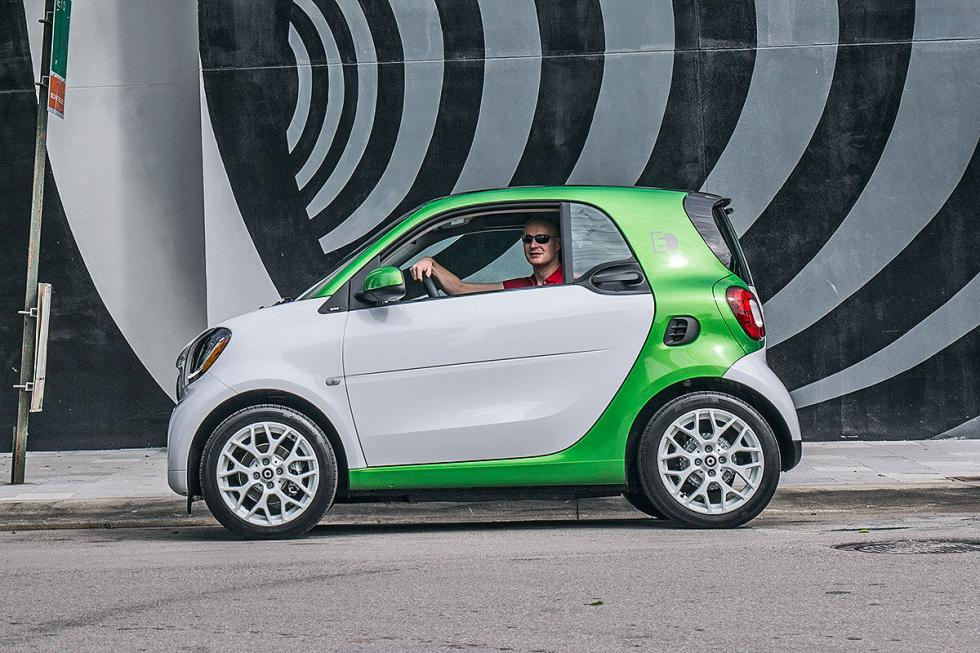Prueba: Smart fortwo electric drive
