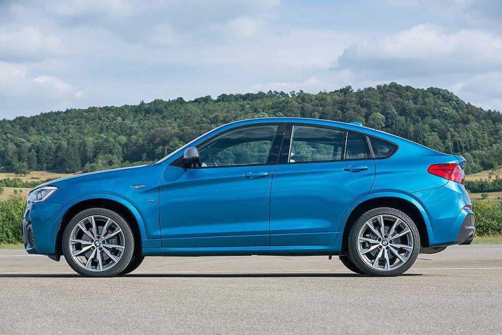 Comparativa:BMW X4/Jaguar F-Pace/Mercedes GLC/Porsche Macan