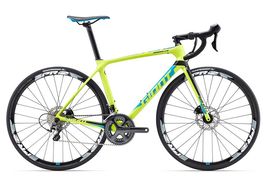 BICICLETA GIANT TCR ADVANCED 1 DISC 2017