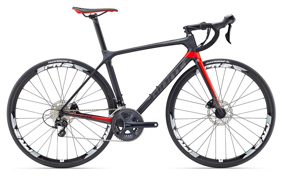 BICICLETA GIANT TCR ADVANCED 2 DISC 2017