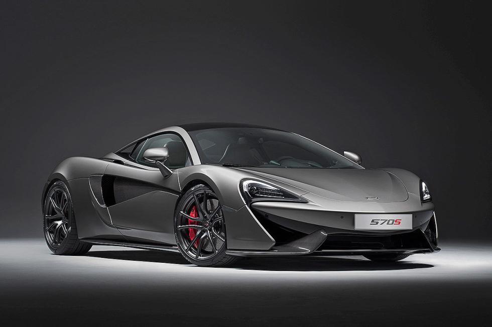 McLaren 570S Track Pack. Principios 2017. 0 a 200 km/h en 9,2 segundos.