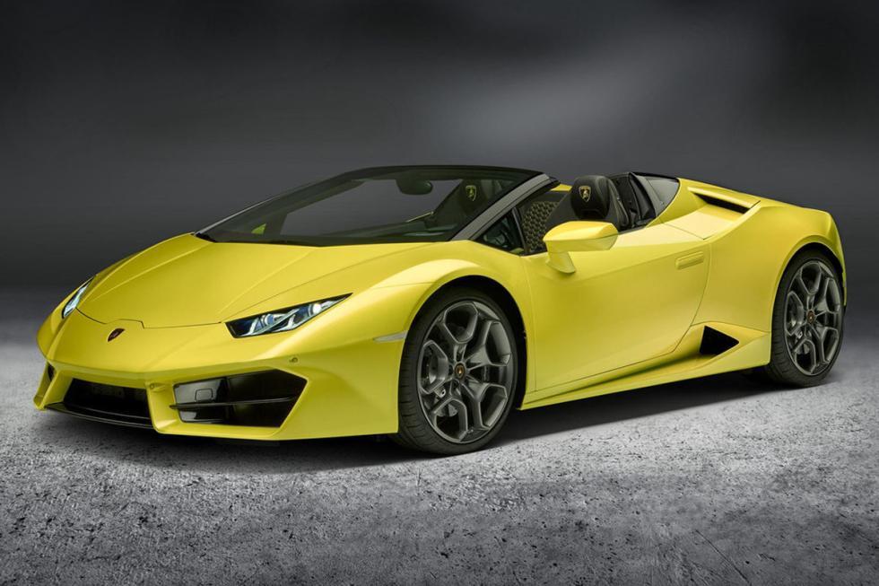 Lamborghini Huracán RWD Spyder. Primavera de 2017. 3,6 segundos de 0 a 100 km/h.