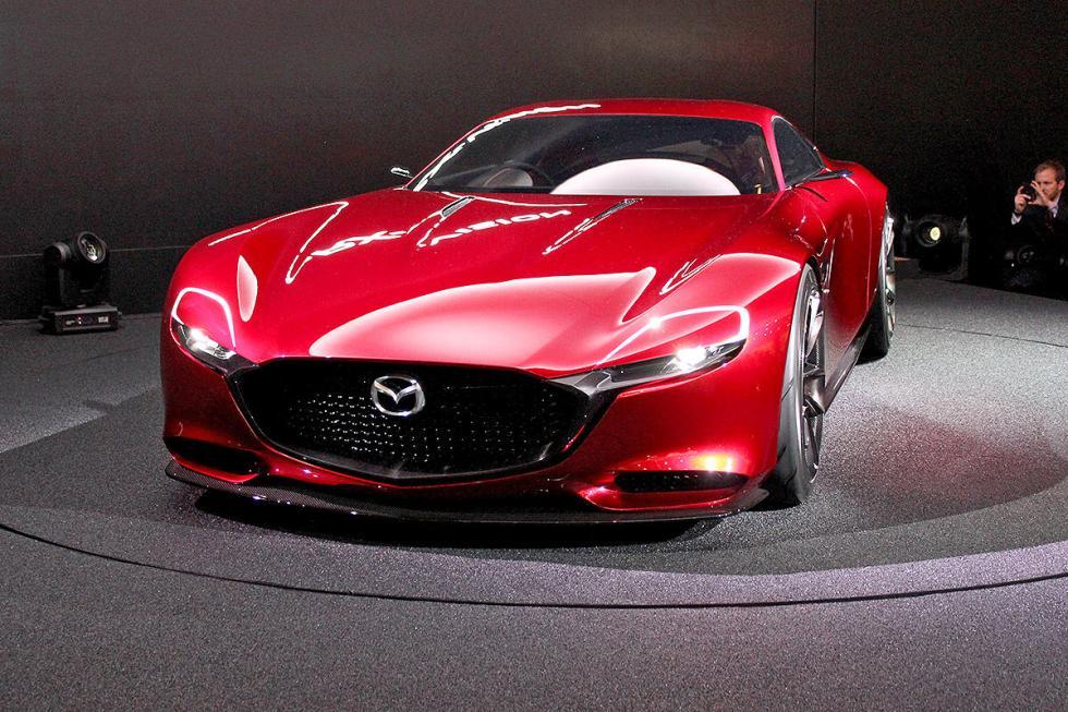 Mazda RX-9. En 2017, pero aún por confirmar. Y es que el primer motor Wankel de