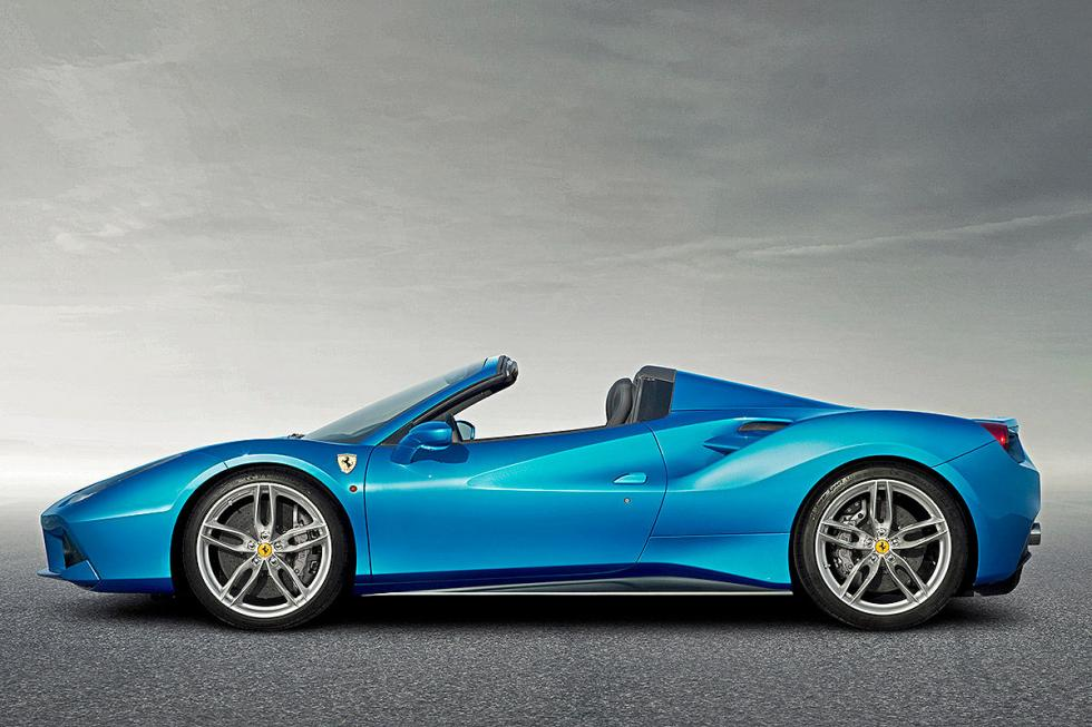 Ferrari 488 Speciale Aperta. Crece hasta los 700 CV, decrece en 100 kilos.